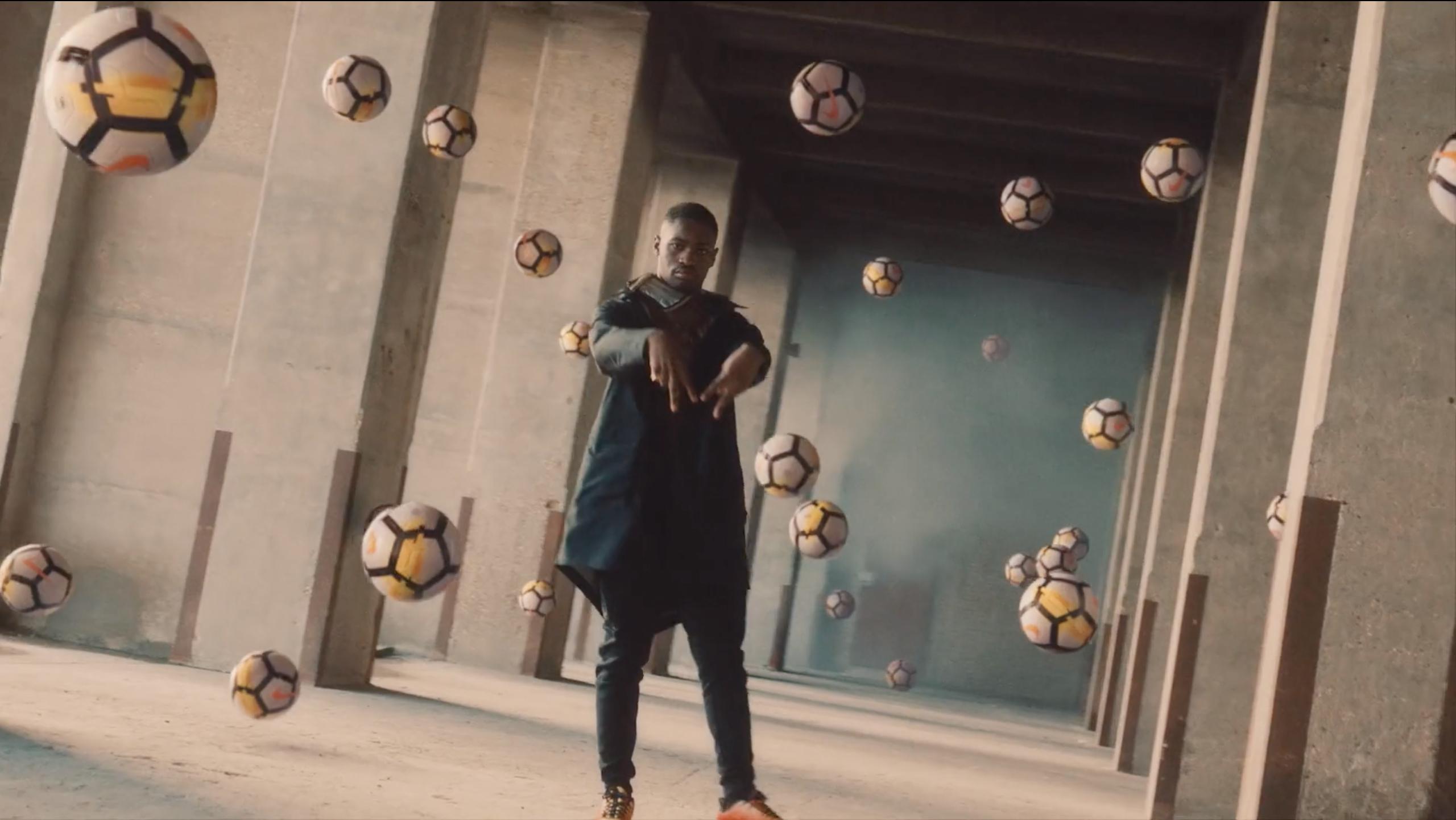 Buki Ebiesuwa Stylist - Nike | Born Mercurial - ManvsMachine
